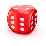 Lucky Dice Royalty Free Stock Photo