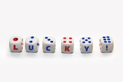 Free Lucky Dices Royalty Free Stock Images - 5926169
