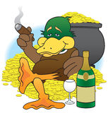 Lucky Duck Stock Photography