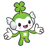 The Lucky Fairy mascot has been welcomed with both hands. Nature Stock Images