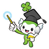 Lucky Fairy mascot the left hand guides and the right hand is ho Royalty Free Stock Photo