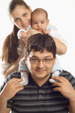 Lucky family Royalty Free Stock Images