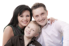 Lucky family Royalty Free Stock Image