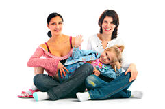 Lucky family Stock Photography