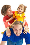 Lucky family Royalty Free Stock Photos