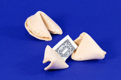 Lucky Fortune Cookies Stock Photos