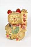 Lucky golden cat Stock Photo