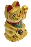 Lucky golden Cat Stock Photography