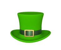 Lucky green hat for Saint Patricks Day Stock Photo
