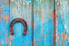 Lucky horseshoe Royalty Free Stock Images