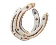Lucky horseshoe isolated at white Royalty Free Stock Photo