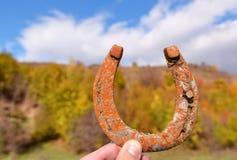 Lucky horseshoe Stock Image