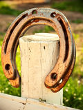 Lucky horseshoe Royalty Free Stock Image