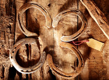 Lucky horseshoes Royalty Free Stock Photography