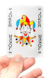 Lucky jocker card Royalty Free Stock Photo