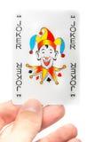 Lucky jocker card Royalty Free Stock Photo