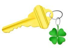 Lucky key Stock Image