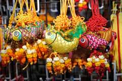 Lucky knot. For Chinese New Year decoration in Chinatown (Niu Che Shui), Singapore Royalty Free Stock Photography