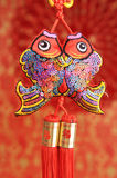 Lucky knot for Chinese new year Stock Images