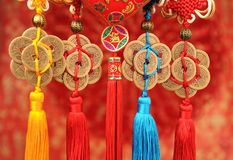 Lucky knot for Chinese new year Royalty Free Stock Image