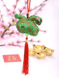 Lucky knot for Chinese new year Royalty Free Stock Images