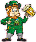 Lucky Leprechaun Stock Image