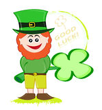 Lucky leprechaun Stock Photography