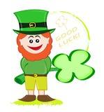 Lucky leprechaun Stock Photography
