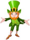 Lucky Leprechaun royalty free illustration