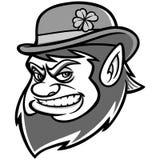 Lucky Leprechaun Mascot Illustration Photographie stock libre de droits