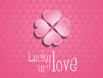 Lucky in love. Royalty Free Stock Image