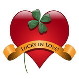 Lucky in love Stock Image