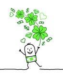 Lucky man Stock Image