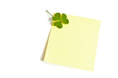 Lucky message Stock Image