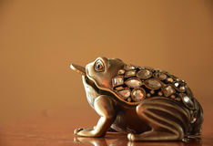 Lucky money frog Royalty Free Stock Images