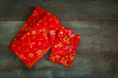 Lucky Money Pouches rojo Imágenes de archivo libres de regalías