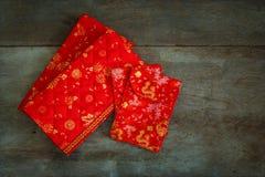 Lucky Money Pouches vermelho Imagens de Stock Royalty Free