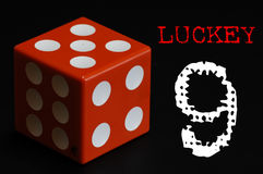 Lucky nine Stock Photos