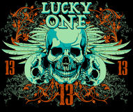 Lucky one Royalty Free Stock Image