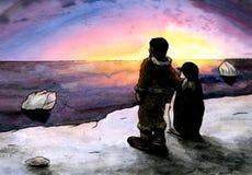 Lucky Penguin (2011) Fotografie Stock
