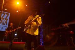 Lucky Peterson, USA Kriol Jazz Festival lizenzfreie stockbilder