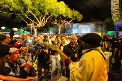 Lucky Peterson, USA Kriol Jazz Festival stockfoto