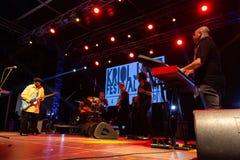 Lucky Peterson, USA Kriol Jazz Festival lizenzfreie stockfotos