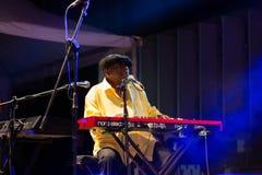 Lucky Peterson, USA Kriol Jazz Festival lizenzfreies stockfoto