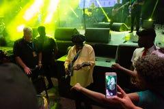 Lucky Peterson, USA Kriol Jazz Festival lizenzfreies stockbild