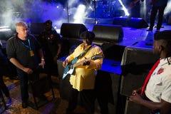 Lucky Peterson, USA Kriol Jazz Festival stockfotografie