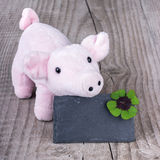 Lucky pig Stock Photo