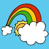 Lucky Rainbow Royalty Free Stock Photos