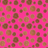Lucky Seamless Pattern Stock Images