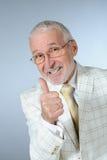 Lucky senior businessman Stock Photos